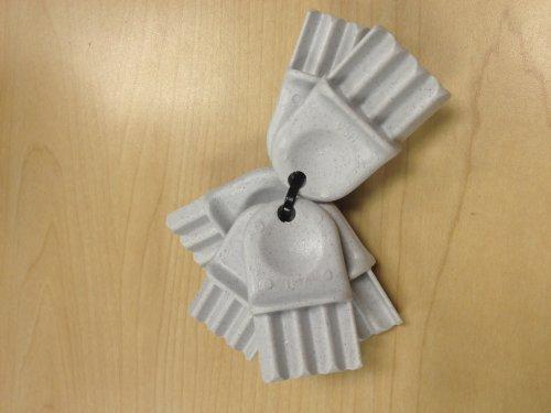 Bradley 2055 Toilet Paper Dispenser Key 2 Pack Freebumble