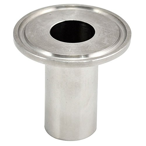 """1//2/"""" Sanitary Male Threaded NPT Ferrule Pipe Fitting to 1.5/"""" Tri Clamp SS304*~*"""