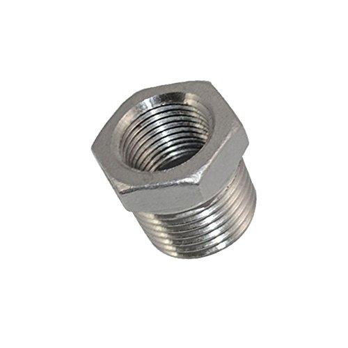 Stainless Steel 1//2 NPT Size Female Quick Connect Nipple Plug Coupler Connection