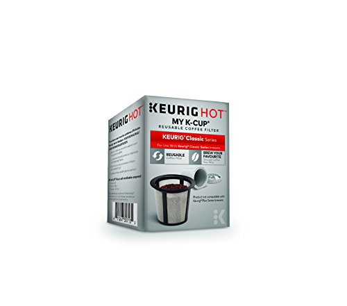 Keurig 119203 My K Cup Reusable Coffee Filter Gray Updated Model