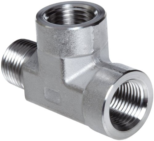 Class 3000 316//316L Forged Stainless Steel Pipe Fitting 3//8 NPT Female X 1//8 Female 3//8 NPT Female X 1//8 Female Merit Brass Reducing Coupling