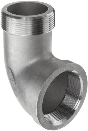 """1/"""" Inch stainless steel 304 fitting 90 Street Elbow Threaded NPT Class 150"""