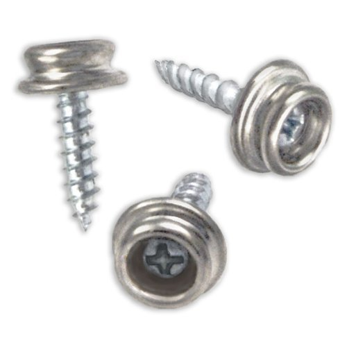 "DOT Snap Fastener Screw Stud #8 Marine Grade Size 3//8/"" Stainless Steel"