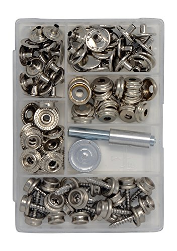 """SCREW STUD Dot Fasteners Stainless Steel Boat Cover Marine Snaps 3//8/"""" 25 pcs"""