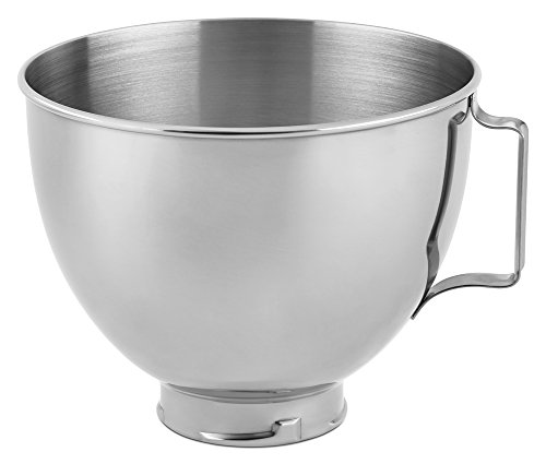 Kitchenaid Stainless Steel Bowl K45sbwh 4 5 Quart