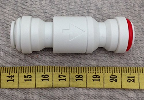 FS-TFC Elbow Check Valve 1//4to 1//4 Quick Connect for Reverse Osmosis Water Filtration System