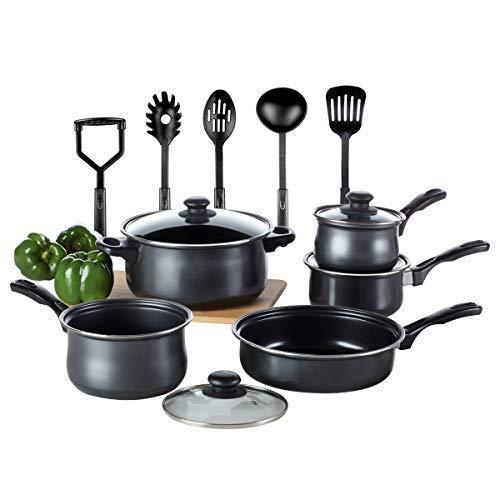 Kitchen Cookware Set Toptier 14 Pieces Nonstick Kitchen
