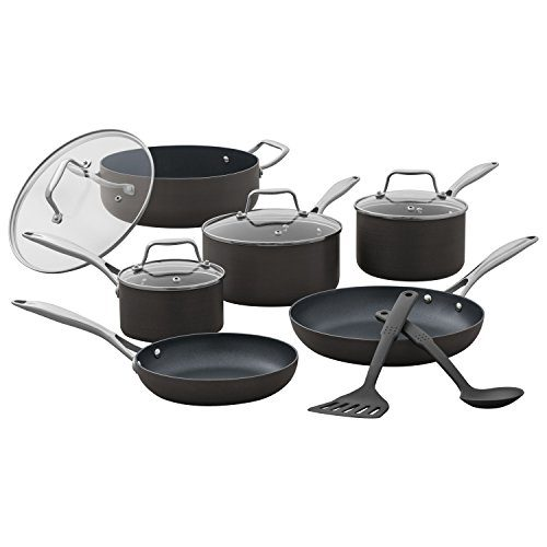 Stone & Beam Kitchen Cookware Set, 12-Piece, Pots And Pans