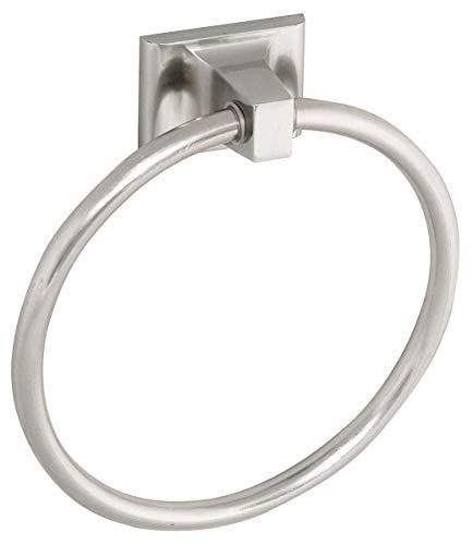 Satin Nickel Liberty Hardware Franklin Brass  AME46-SN Amesbury Towel Ring